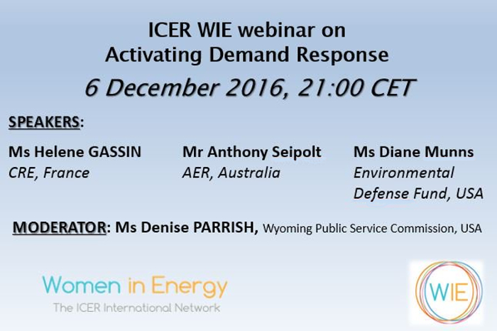 ICER WIE Webinar Activating Demand Response