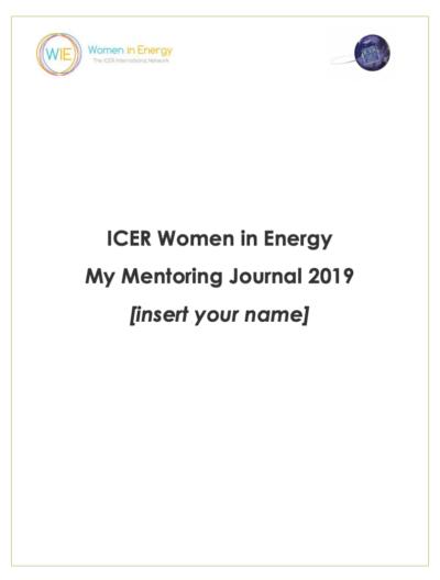 Mentoring Journal 2019 ICER